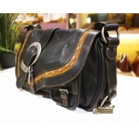 CHRISTIAN DIOR Gaucho Saddle Bag
