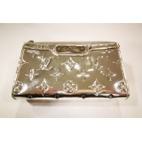 LOUIS VUITTON Monogram Miroir Cosmetic Silver