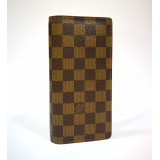 LOUIS VUITTON Damier Brazza Wallet