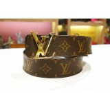 LOUIS VUITTON Initiales Reversible Monogram Belt (S:100/40)