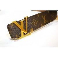 LOUIS VUITTON Initiales Monogram Belt (S:95/38)