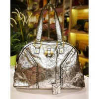 YSL Leather Large Muse Bag
