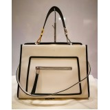FENDI Shopping Bag Runaway Calf Leather