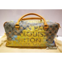 LOUIS VUITTON Monogram Pulp Weekender PM
