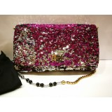 DOLCE & GABBANA Multi Colour Sequins Tote