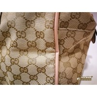 GUCCI GG Canvas Sherry Boston Bag