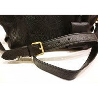 PRADA Vitello Daino Leather Duffle Bag