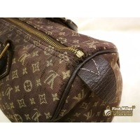 LOUIS VUITTON Monogram Mini Lin Speedy 30 Handbag