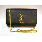 YSL Medium Leather Kate Sling Bag