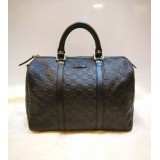 GUCCI GG Guccissima Leather Boston Bag