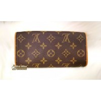 LOUIS VUITTON Monogram Twin Pochette PM (W/O Strap)