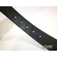 LOUIS VUITTON Taiga Initiales Belt (Size:90/36)