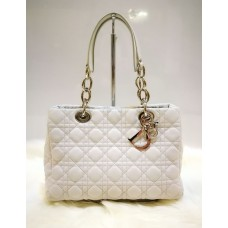 CHRISTIAN DIOR Cannage Quilted Lambskin Tote