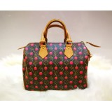 LOUIS VUITTON Monogram Cherry Murakami Speedy 25