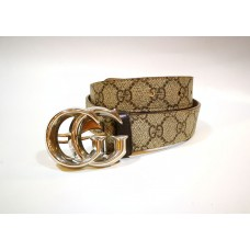 GUCCI Belt With Double G Buckle (S:90/36)