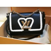 LOUIS VUITTON Twist MM Epi Leather Bag