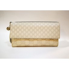 GUCCI Bree Guccissima Leather Continental Wallet