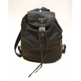 PRADA Nylon Backpack In Black