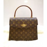 LOUIS VUITTON Monogram Malesherbes Handbag