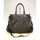 LOUIS VUITTON Monogram Denim Neo Cabby GM
