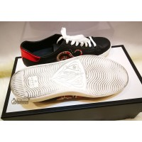 GUCCI Ace Kingsnake Print Sneakers (Size: 6 1/2)