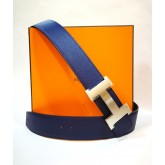 HERMES H Buckle & Reversible Leather Strap Belt (size: 42/85)
