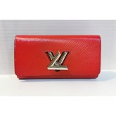 LOUIS VUITTON Epi Leather Twist Wallet