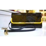 LOUIS VUITTON Monogram Vernis Rossmore MM Clutch