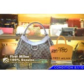GUCCI GG Signature Canvas D Ring Hobo