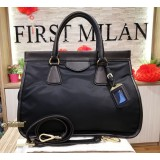 PRADA Nylon Tessuto City Shopping Tote