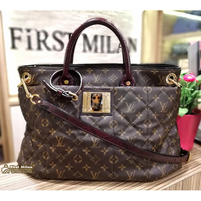 46b9c87be65e LOUIS VUITTON Monogram Etoile Exotique Tote GM