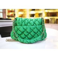 CHANEL Quilted Bubble Nylon Bag