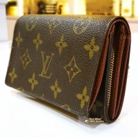 LOUIS VUITTON Monogram Canvas Tresor Wallet