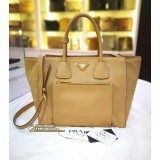 PRADA Soft Calf Leather Handbag