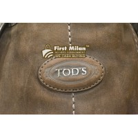 TOD'S Suede Leather Two-Way Bag