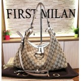 GUCCI Icon Bit Medium Hobo With Horsebit Detail