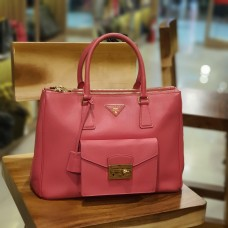 PRADA Saffiano Leather 2 Ways Bag