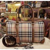 BURBERRY The Medium Alchester In Houseferry Check