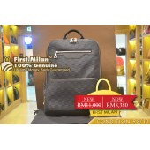 LOUIS VUITTON Damier Infini Leather Avenue Backpack