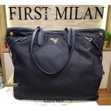 PRADA Large Nylon Tote Bag