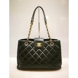 CHANEL CC Large Shopping Tote