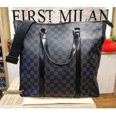 LOUIS VUITTON Damier Graphite Tadao GM