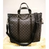 LOUIS VUITTON Damier Graphite Tadao Bag