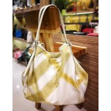 BURBERRY Canvas Large Ikat With Removable Pouch