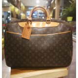 LOUIS VUITTON Monogram Alize 24 H Boston Bag