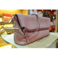 BURBERRY Full Leather Clucth and Crossbody Bag
