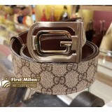 GUCCI Reversible Belt with Interlocking G Buckle